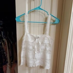 Adorable lace cami top